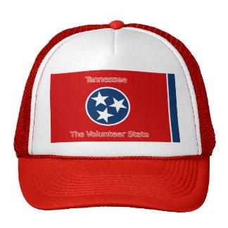 Gorra de la bandera de Tennessee