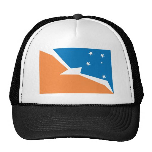 Gorra de la bandera de Tierra del Fuego