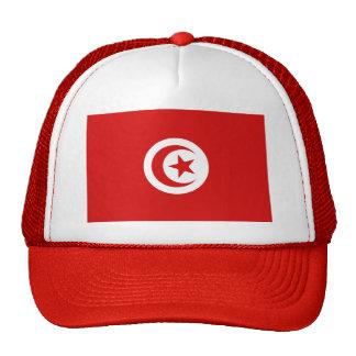 Gorra de la bandera de Túnez