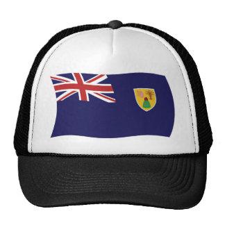 Gorra de la bandera de Turks and Caicos Islands