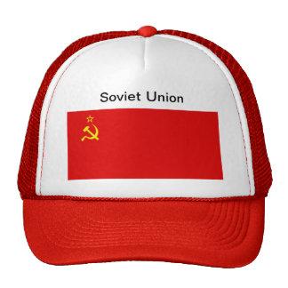 Gorra de la bandera de Unión Soviética
