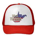 Gorra de la bandera de Virginia Occidental los