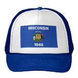 Gorra de la bandera de Wisconsin