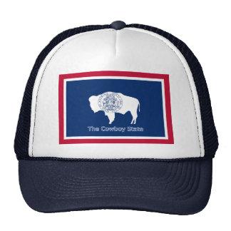 Gorra de la bandera de Wyoming