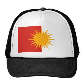 Gorra de la bandera de Yezidi
