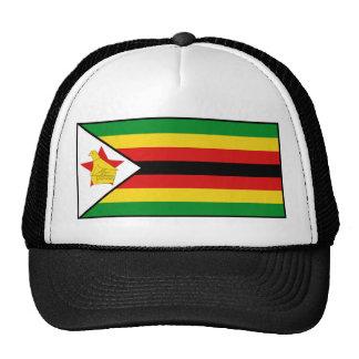 Gorra de la bandera de Zimbabwe
