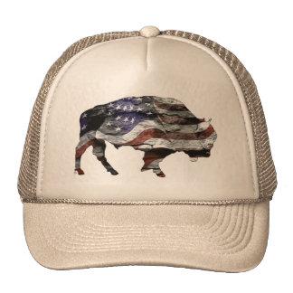 Gorra de la bandera del bisonte