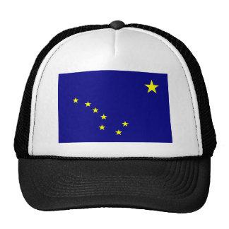Gorra de la bandera del estado de Alaska