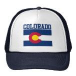 Gorra de la bandera del estado de Colorado
