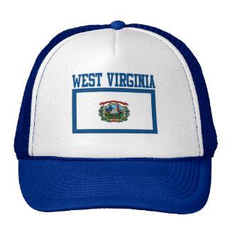 Gorra de la bandera del estado de Virginia Occiden