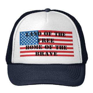 Gorra de la bandera del himno