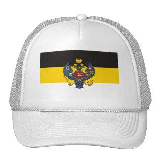 Gorra de la bandera del imperio ruso