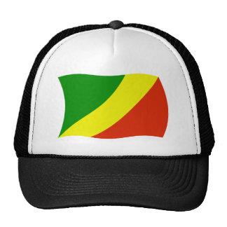 Gorra de la bandera del República del Congo