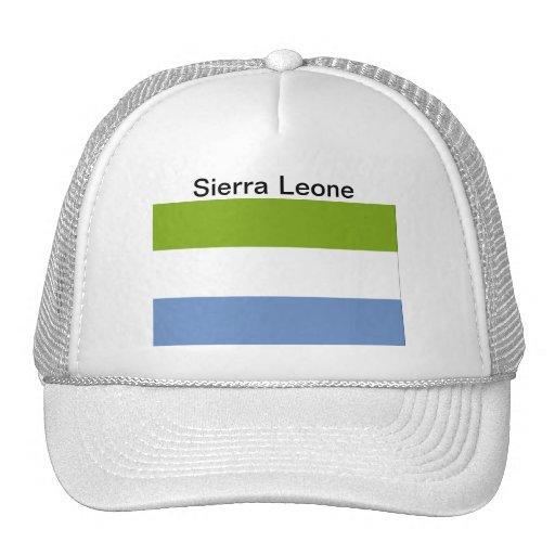 Gorra de la bandera del Sierra Leone