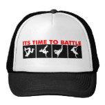 Gorra de la batalla de la danza de rotura
