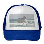 Gorra de la belleza del océano del caballo