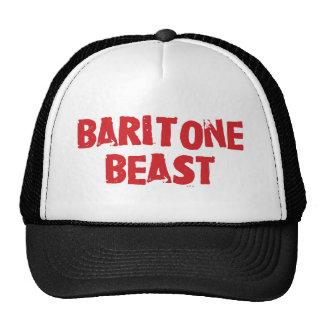 Gorra de la bestia del barítono