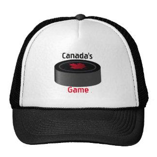 gorra de la bola del hockey