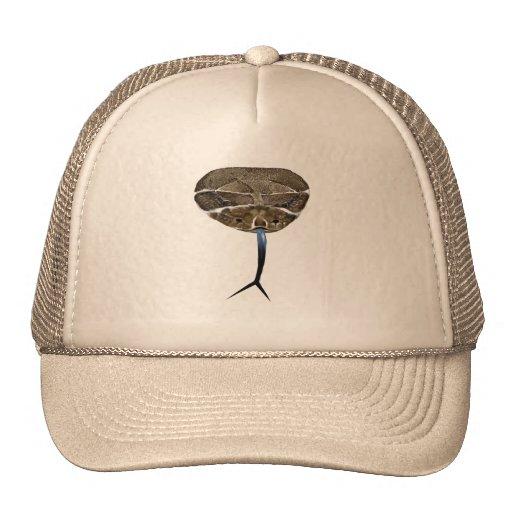Gorra de la cabeza de la serpiente del traqueteo