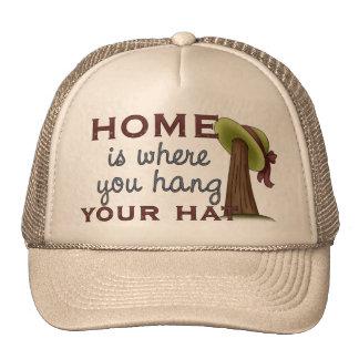Gorra de la caída en casa