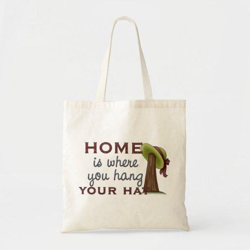 Gorra de la caída en casa bolsa tela barata
