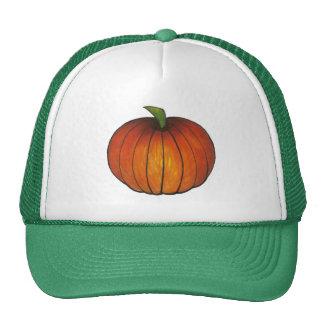 Gorra de la calabaza de la cosecha del otoño