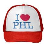 Gorra de la camisa de I <3 PHL (roja/azul)