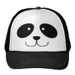 Gorra de la cara de la panda