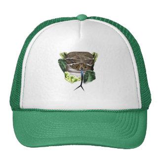 Gorra de la cara de la serpiente del traqueteo