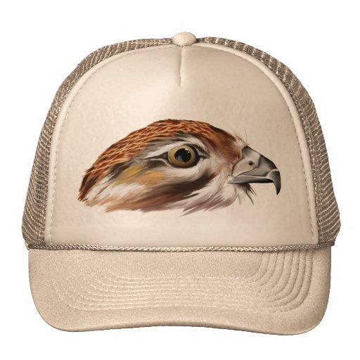 Gorra de la cara del halcón