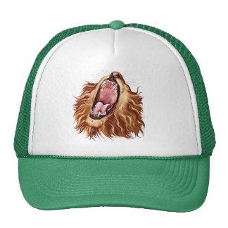 Gorra de la cara del león