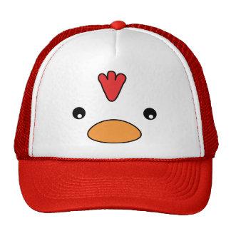 Gorra de la cara del pollo