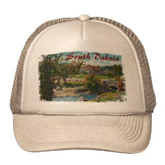 Gorra de la casa de campo del juego del parque de