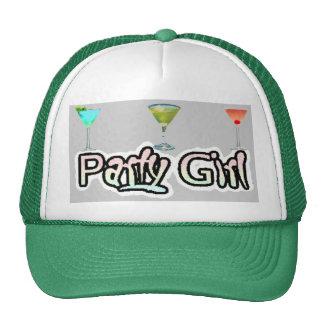 Gorra de la chica marchosa (blanco/verde)