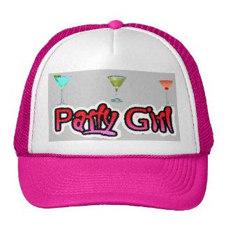 Gorra de la chica marchosa (rosa)