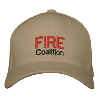 Gorra de la coalición del FUEGO Gorro Bordado