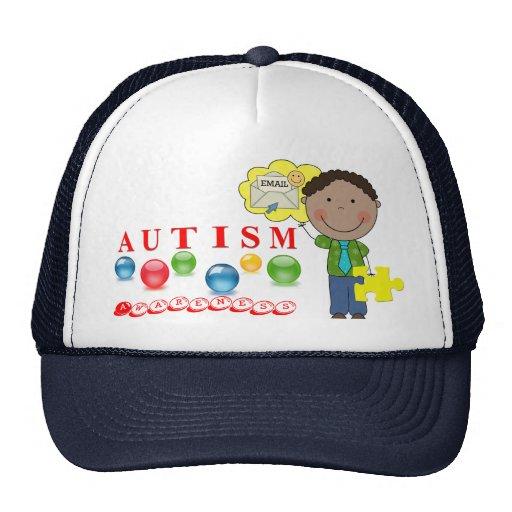 Gorra de la conciencia 4 del autismo