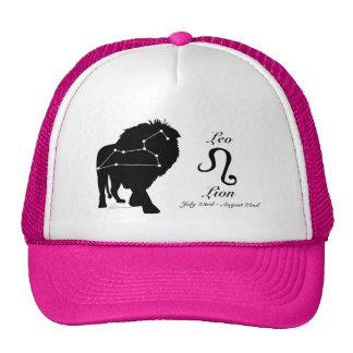 Gorra de la constelación/zodiaco de Leo