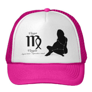 Gorra de la constelación/zodiaco del virgo