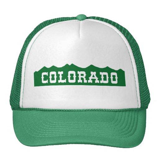 Gorra de la cordillera de Colorado