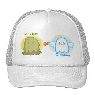 Gorra de la creación o de la mutación