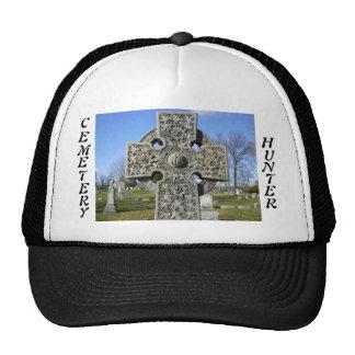 gorra de la cruz del cazador del cementerio