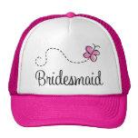 gorra de la dama de honor del banquete de boda