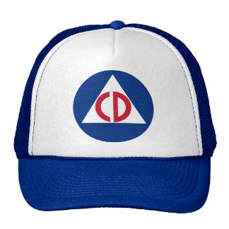 gorra de la defensa civil