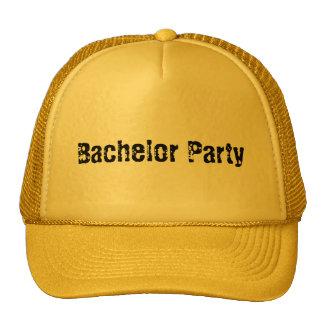Gorra de la despedida de soltero