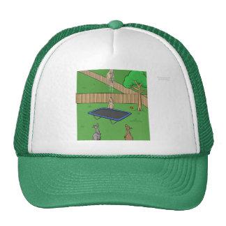 Gorra de la despedida del trampolín del canguro