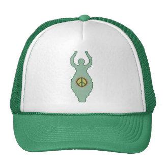Gorra de la diosa de la paz