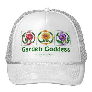 Gorra de la diosa del jardín
