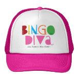Gorra de la diva del bingo