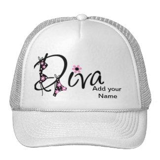 Gorra de la diva personalizado